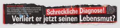 Helmut Kohl - Schreckliche Diagnose! Verliert er jetzt seinen Lebensmut?