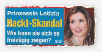 Prinzessin Letizia - Nackt-Skandal - Wie kann sie sich so freizügig zeigen?