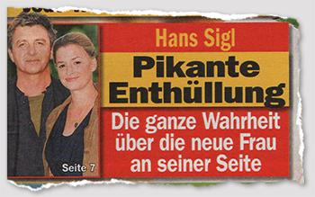 Hans Sigl - Pikante Enthüllung - Die ganze Wahrheit über die neue Frau an seiner Seite