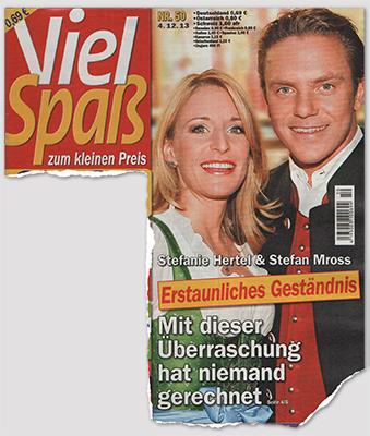 Stefanie Hertel & Stefan Mross - Erstaunliches Geständnis - Mit dieser Überraschung hat niemand gerechnet