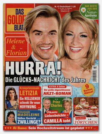 Helene & Florian - Hurra! Die Glücks-Nachricht des Jahres