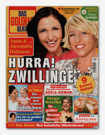 Anita & Alexandra Hofmann - Hurra! Zwillinge