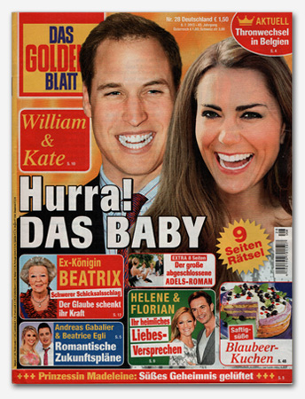 William & Kate - Hurra! Das Baby