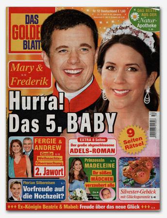 Mary & Frederik - Hurra! Das 5. Baby