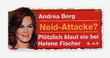Andrea Berg - Neid-Attacke? Plötzlich klaut sie bei Helene Fischer