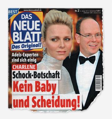Adels-Experte sind sich einig - Charlene - Schock Botschaft - Kein Baby und Scheidung!