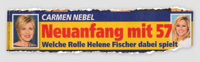 Carmen Nebel - Neuanfang mit 57 - Welche Rolle Helene Fischer dabei spielt