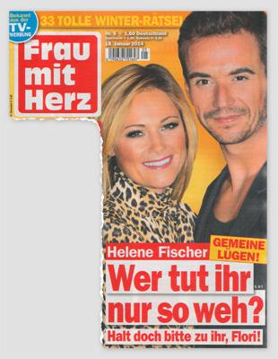 Helene Fischer - Gemeine L+gen - Wer tut ihr so weh? Halt doch bitte zu ihr, Flori!