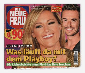 Helene Fischer - Was läuft da mit dem Playboy? Die Liebesbeichte muss Flori das Herz brechen