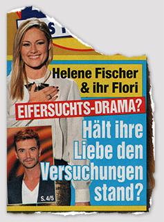 Helene Fischer & ihr Flori - Eifersuchts-Drama? - Hält ihre Liebe den Versuchungen stand?