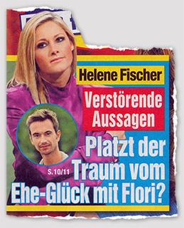 Helene Fischer - Verstörende Aussagen - Platzt der Traum vom Ehe-Glück mit Flori?