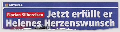 Florian Silbereisen - Jetzt erfüllt er Helenes Herzenswunsch