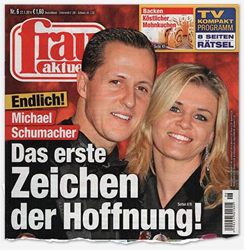 Endlich! - Michael Schumacher - Das erste Zeichen der Hoffnung!