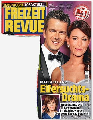 Markus Lanz - Eifersuchts-Drama - Erschütternd, wie Ex-Freundin Birgit Schrowange über seine Ehefrau herzieht