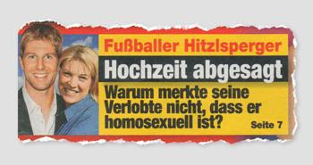 Fußballer Hitzlsperger - Hochzeit abgesagt - Warum merkte seine Verlobte nicht, dass er homosexuell ist?