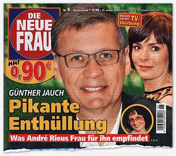 Günther Jauch - Pikante Enthüllung - Was André Rieus Frau für ihn empfindet