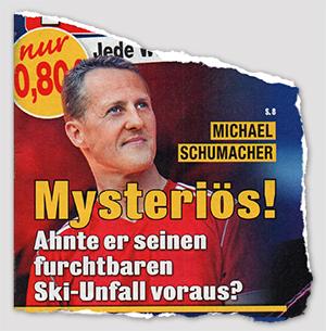 Michael Schumacher - Mysteriös! Ahnte er seinen furchtbaren Ski-Unfall voraus?