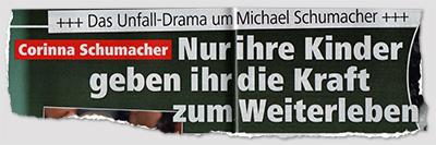 Das Unfall-Drama um Michael Schumacer - Corinna Schumacher - Nur ihre Kinder geben ihr die Kraft zum Weiterleben