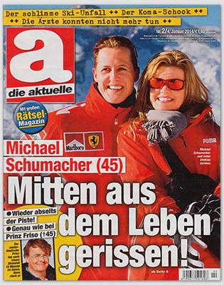 Michael Schumacher (45) - Mitten aus dem Leben gerissen! Wieder abseits der Piste! Genau wie bei Prinz Friso