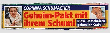 Corinna Schumacher - Geheim-Pakt mit ihrem Schumi - Diese Botschaften geben ihr Kraft