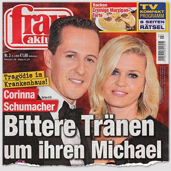 Tragödie im Krankenhaus! Corinna Schumacher - Bittere Tränen um ihren Michael