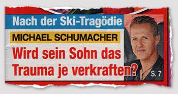 Nach der Ski-Tragödie - Michael Schumacher - Wird sein Sohn das Trauma je verkraften?
