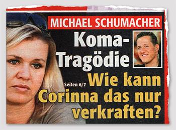 Michael Schumacher - Koma-Tragödie - Wie kann Corinna das nur verkraften?