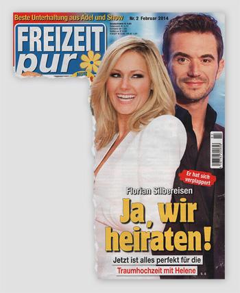 Er hat sich verplappert - Florian Silbereisen - Ja, wir heiraten! Jetzt ist alles perfekt für die Traumhochzeit mit Helene