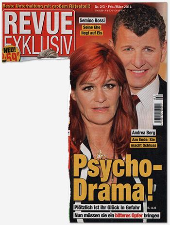 Semino Rossi - Seine Ehe liegt auf Eis - Andrea Berg - Am Ende: Sie macht Schluss - Psycho-Drama! - Plötzlich ist ihr Glück in Gefahr - Nun müssen sie ein bitteres Opfer bringen
