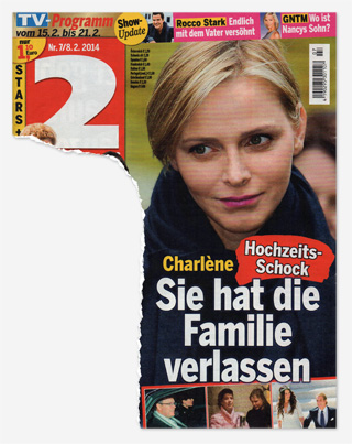 Charlène - Hochzeits-Schock - Sie hat die Familie verlassen