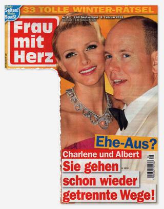 Ehe-Aus? Charlene und Albert - Sie gehen schon wieder getrennte Wege!
