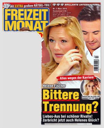 Alles wegen der Karriere - Helene Fischer - Bittere Trennung? Liebes-Aus bei schöner Rivalin! Zerbricht jetzt auch Helenes Glück?