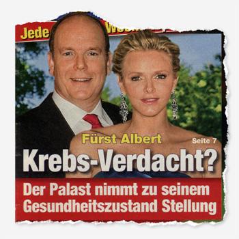 Fürst ALbert - Krebs-Verdacht? Der Palast nimmt zu seinem Gesundheitszustand Stellung
