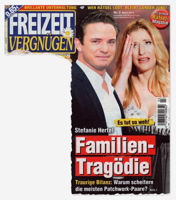 Es tut so weh! Stefanie Hertel - Familien-Tragödie - Traurige Bilanz: Warum scheitern die meisten Patchwork-Paare?