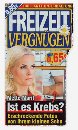 Mette-Marit - Ist es Krebs? Erschreckende Fotos von ihrem kleinen Sohn