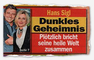 Hans Sigl - Dunkles Geheimnis - Plötzlich bricht seine heile Welt zusammen