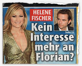 Helene Fischer - Kein Interesse mehr an Florian?
