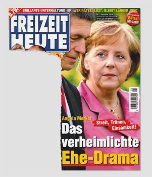Angela Merkel - Streit, Tränen, Einsamkeit! Das verheimlichte Ehe-Drama