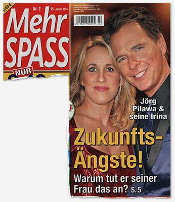 Jörg Pilawa & seine Irina - Zukunfts-Ängste! Warum tut er seiner Frau das an?