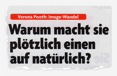Verona Pooth: Image-Wandel - Warum macht sie plötzlich einen auf natürlich?