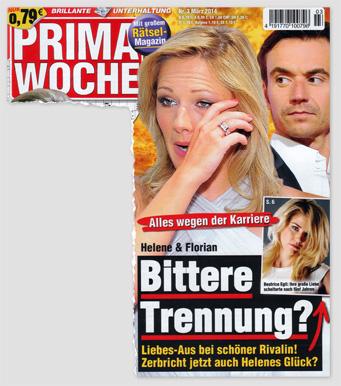 Alles wegen der Karriere - Helene & Florian - Bittere Trennung? Liebes-Aus bei schöner Rivalin! Zerbricht jetzt auch Helenes Glück?