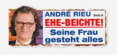 André Rieu - Ehe-Beichte! Seine Frau gesteht alles