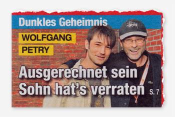 Dunkles Geheimnis - Wolfgang Petry - Ausgerechnet sein Sohn hat's verraten