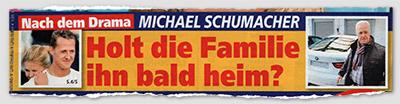 Nach dem Drama - MICHAEL SCHUMACHER - Holt die Familie ihn bald heim?