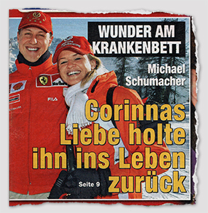 WUNDER AM KRANKENBETT - Michael Schumacher - Corinnas Liebe holte ihn ins Leben zurück