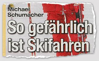 Michael Schumacher - So gefährlich ist Skifahren
