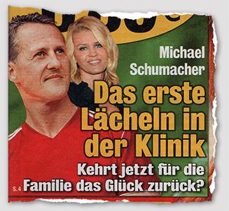 Michael Schumacher - Das erste Lächeln in der Klinik - Kehrt jetzt für die Familie das Glück zurück?