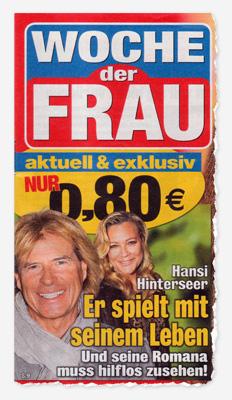 Hansi Hinterseer - Er spielt mit seinem Leben - Und seine Romana muss hilflos zusehen!