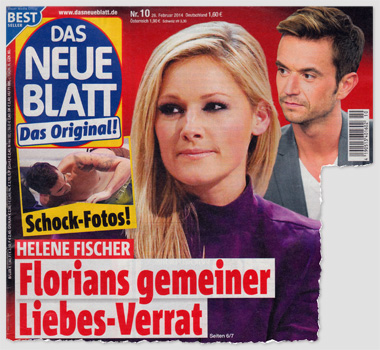 Schock-Fotos! Helene Fischer - Florians gemeiner Liebes-Verrat