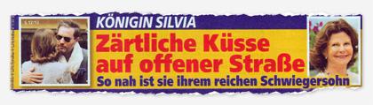 Königin Silvia - Zärtliche Küsse auf offener Straße - So nah ist sie ihrem reichen Schwiegersohn